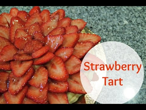 STRAWBERRY TART RECIPE | EM'S BAKING
