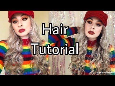 Curly Mermaid Waves Hair Tutorial   Poison Grace