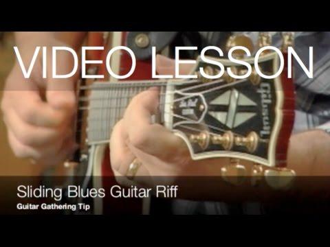 Blues Guitar Lesson: Sliding Blues Guitar Riff