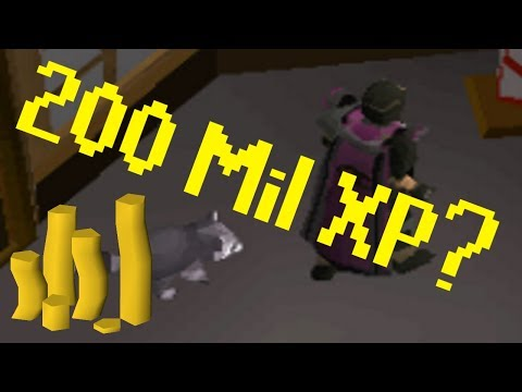 [OSRS] Why 200 Mil Thieving XP?