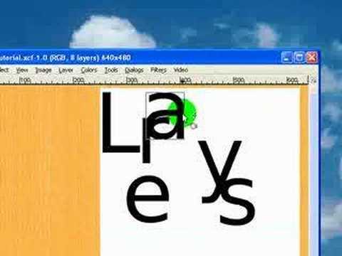Gimp Tutorial: Layers - The Basics
