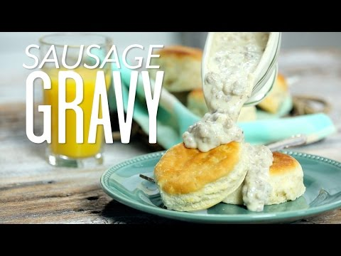 How To Make Sausage Gravy | Cooking Tutorial