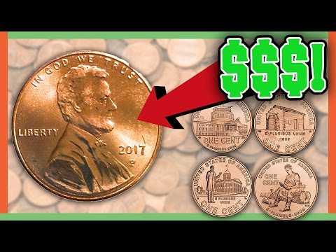 RARE VALUABLE PENNIES WORTH MONEY - COINS IN YOUR POCKET CHANGE!!