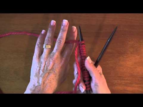 Continental Knit Stitch