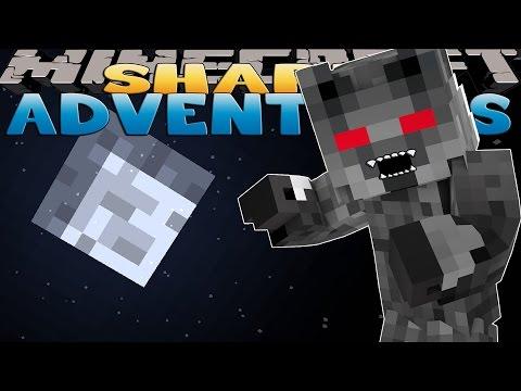 Minecraft Adventure - Sharky and Scuba Steve - SHARKY IS A WEREWOLF w/ TinyTurtle