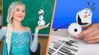 Диснеевские принцессы в школе! / Канцелярия диснеевских принцесс – 10 идей