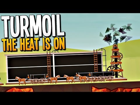 MASSIVE OIL SPILLAGE COSTS US THOUSANDS OF DOLLARS - Turmoil The Heat is On Gameplay