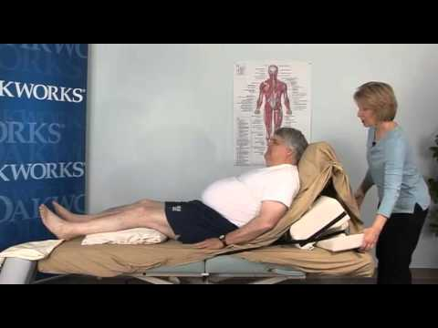 Carole Osborne: The Side Lying Positioning System by Oakworks works with a variety of clients