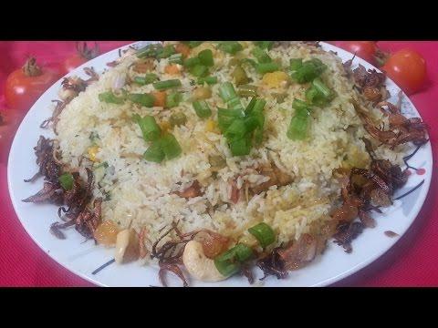 Vegetable biryani/ malabar style