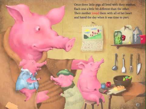 Three Little Pigs - iPad development.