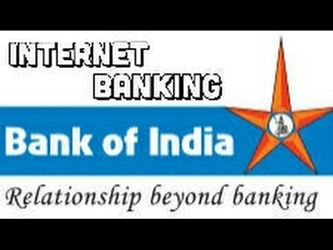 Bank of India Internet banking registration online