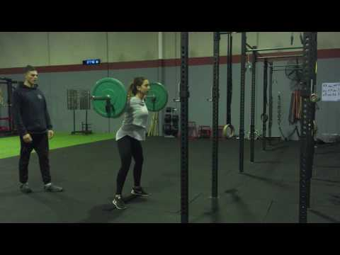Barbell Back Squat with Sumo Stance (wide stance)