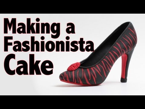 How to Make a Fashionista Cake in Minutes | Cake Tutorial
