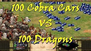 Age of Empires II: Forgotten Empires - 100 Dragons VS 100