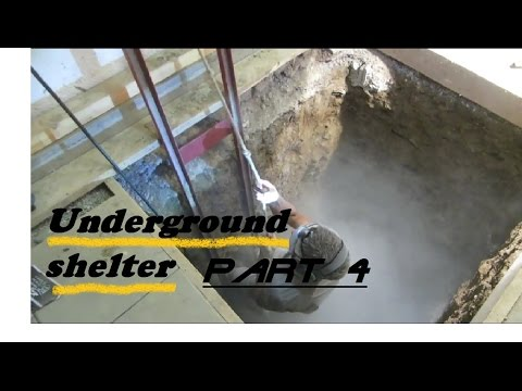 UNDERGROUND shelter, How to build an underground Bunker!!! #4