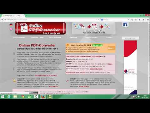 How To Convert Word to PDF File !