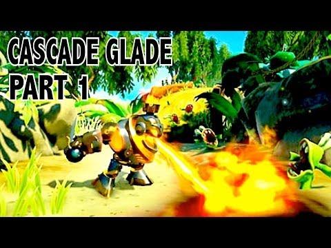 Let's Play - Skylanders Swap Force - Cascade Glade Part 1 (100%)