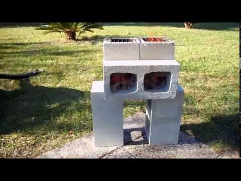 How To Build A Cinder Block Rocket Stove