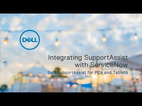 Integrating SupportAssist with ServiceNow