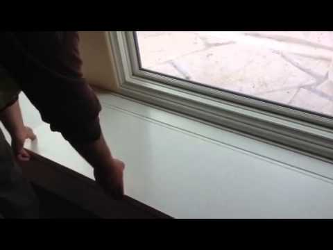 Window bench hinge system the lean way