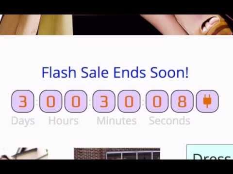 Countdown Plugin for websites