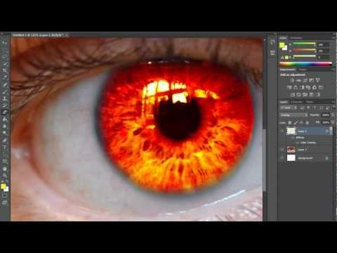 Photoshop CS6 : Eye color