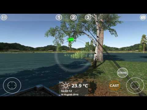 Carp Fishing Simulator Mobile v1.9.7 gameplay footage