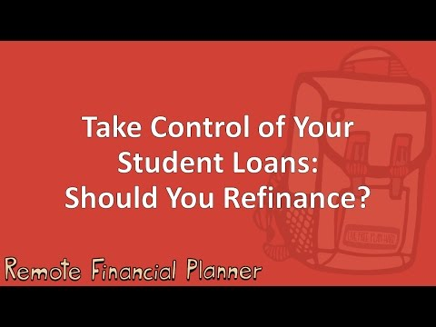 Take Control of Your Student Loans: Should You Refinance?