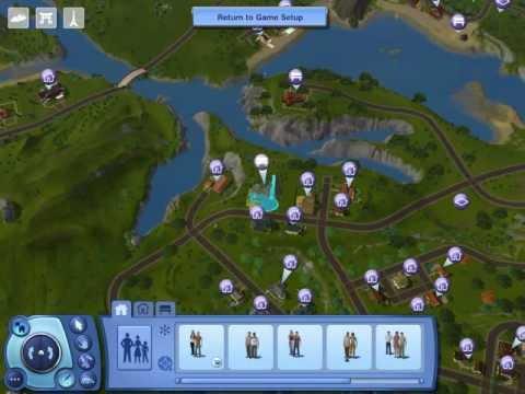 My Sims 3 Garden (Waterfall Springs Garden).