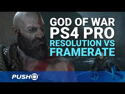 God of War PS4 Pro Modes Comparison: Resolution vs Performance | PlayStation 4