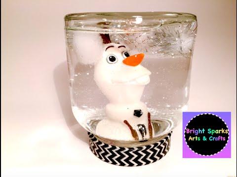Snow Globe * How to Make * DIY * Art Craft Fun