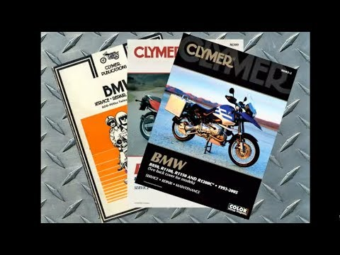 Clymer Manuals BMW Airhead Oilhead K-Bike Brick Shop Service Repair Maintenance Manual Video