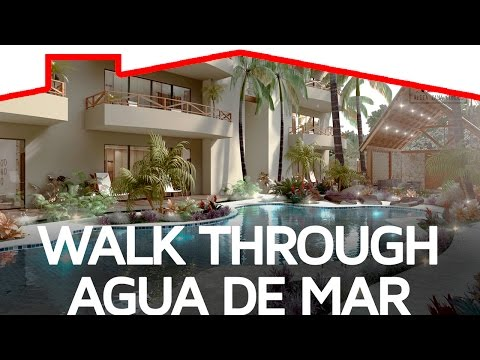 Walkthrough Agua de Mar TULUM Aldea Zama - TOP Mexico Real Estate