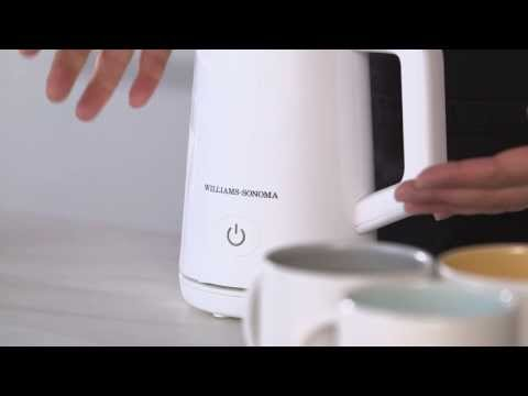 How to Make Hot Chocolate in the Williams-Sonoma Milk Frother