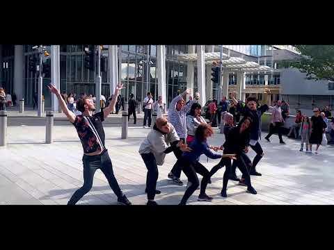 Flash Mob Marriage Proposal Shard London