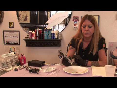 Tattoo Artists & Advice : How to Work a Tattoo Machine