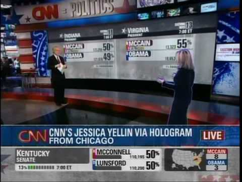 Awesome CNN Hologram Interview