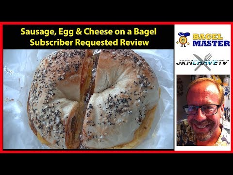 Viewer Request - Sausage Egg and Cheese on a Bagel   JKMCraveTV