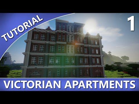 Minecraft - Victorian Apartments Tutorial [Part 1/2]