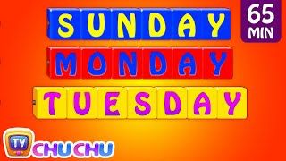 Learn/Teach Days of the Week Song, Alphabets, Colors, Numbers Nursery Rhymes for Kids   ChuChu TV