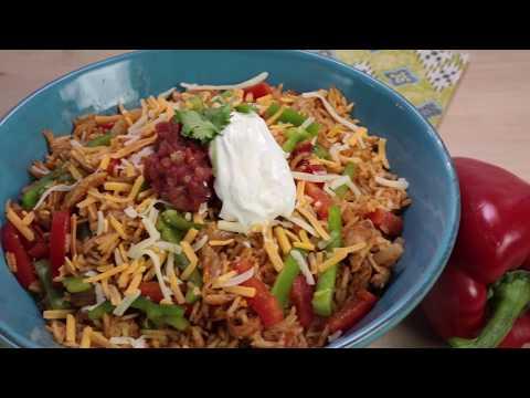 How to make: One-Pot Chicken Fajita Rice Dinner