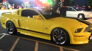 FAST AND  FURIOUS 4 MUSTANG
