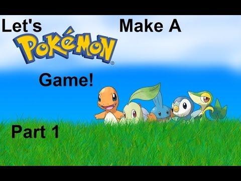 Let's make a Pokémon Game! Part 1