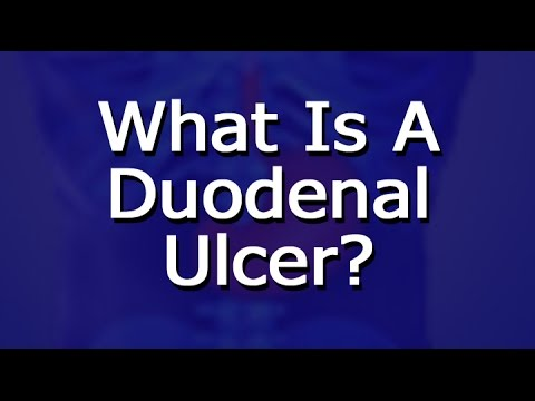 What Is A Duodenal Ulcer?
