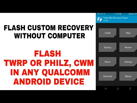 How To Flash Recovery Without Computer In Any Qualcomm Snapdragon Device