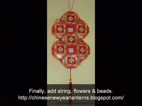 How to Make a Chinese New Year Lantern  The Lucky 8 using red packets