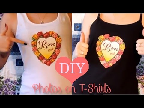 DIY *Washable* ♥ How To Print Your Own T-Shirts At Home!