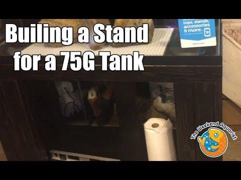 DIY 75 Gallon Tank Stand Build