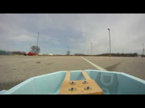 RC Hovercraft Part 2 (Testing the Hovercraft)