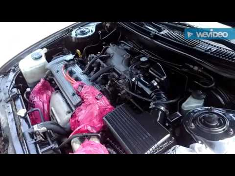 CLEANING 97 COROLLA ENGINE BAY!